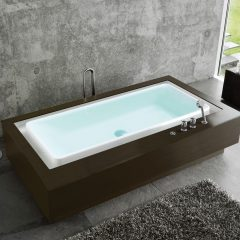 Rectangular bathtub by DUSCHOLUX AG