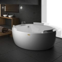 Round bathtub by JACUZZI France