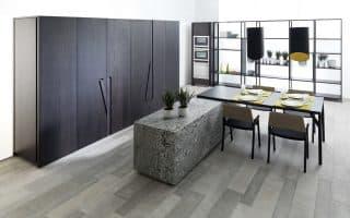 Hidden kitchen by GAMADECOR – PORCELANOSA Grupo