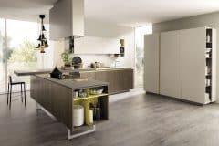 Cucina a L della marca Euromobil