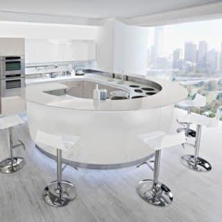 Round kitchen by Ar-Tre