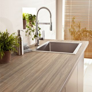 Laminate countertop by polyrey