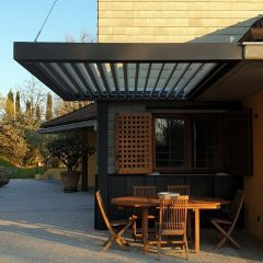 hanging pergola by MORE SPACE