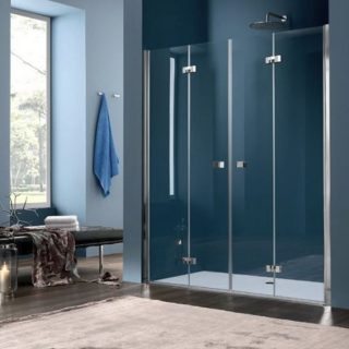 Folding shower screen BY Inda