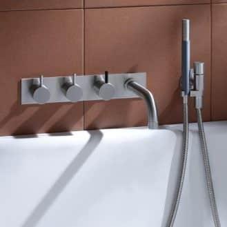 Выбор правильного смесителя для ванны