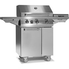 Gas barbecue by STEEL