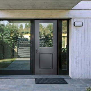 Porte d'entrée semi-vitrée COCIF