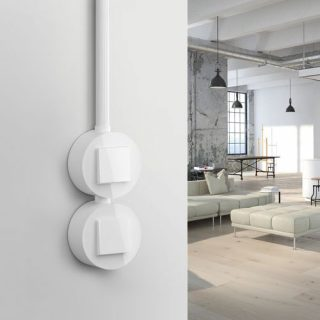 GIRA Push-button Light Switch