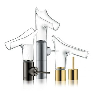 AXOR Glass mixer tap