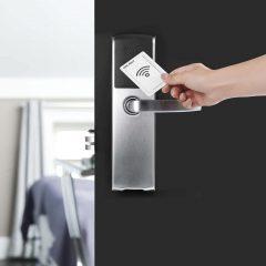 Poignée de porte avec serrure électronique ASSA ABLOY