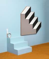 Зеркало в виде лестницы BOWER STUDIOS
