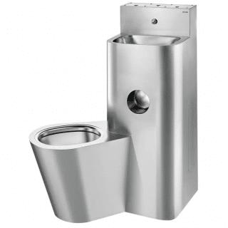 Edelstahl-WC von DELABIE