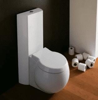 Kompakte Toilette von NOVEL