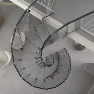 SILLER STAIRS Glass Staircase