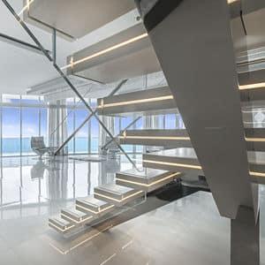 OFFICINE SANDRINI Illuminated staircase